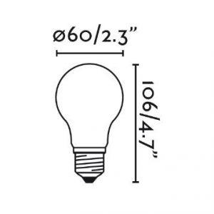 LED LEMPUTE faro 7W E27 4000K www.gerasviesa.lt