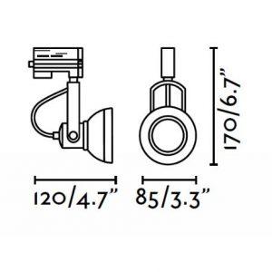 KRYPTINIS SVIESTUVAS RING LED faro www.gerasviesa.lt